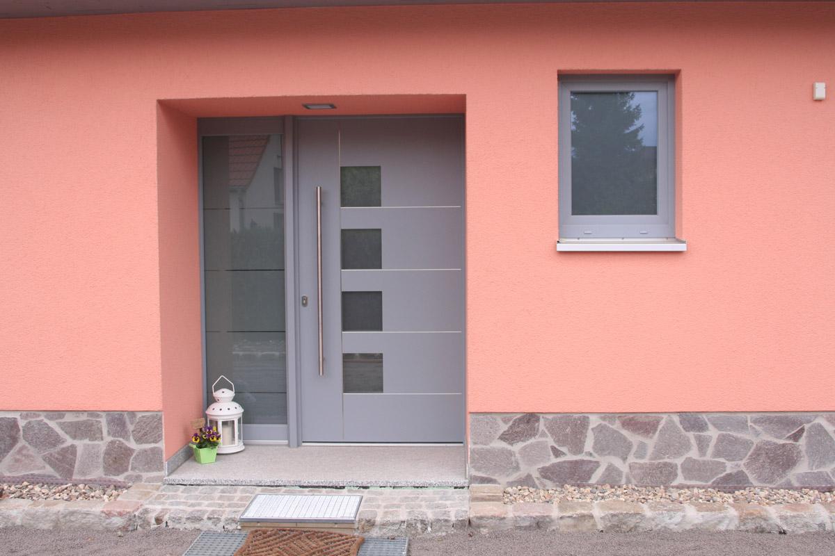 Fenster und Haustür